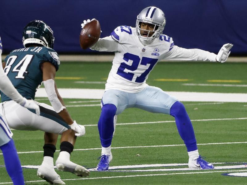 Dallas Cowboys cornerback Trevon Diggs