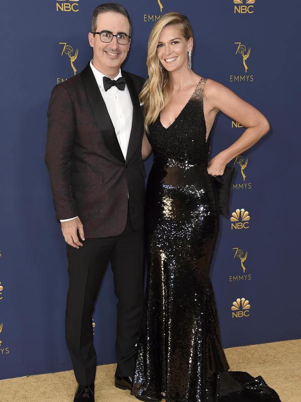 John Oliver & Kate Norley