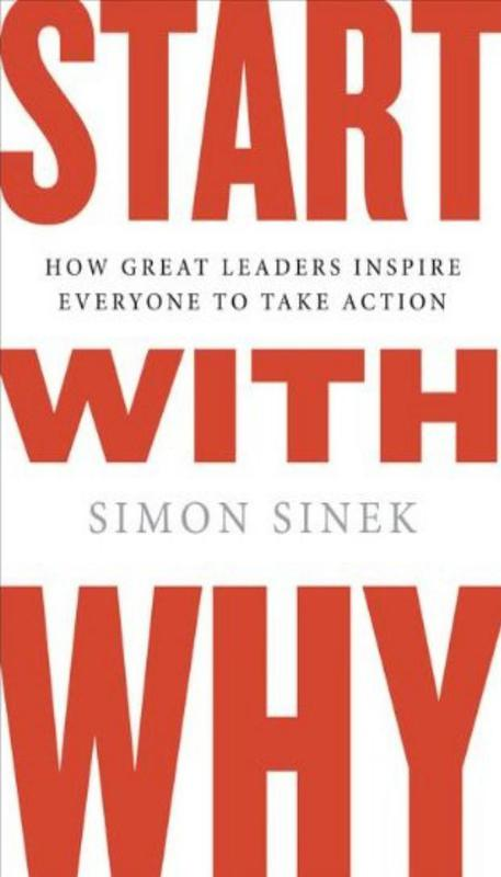"""""""Start With Why"""" by Simon Sinek"""