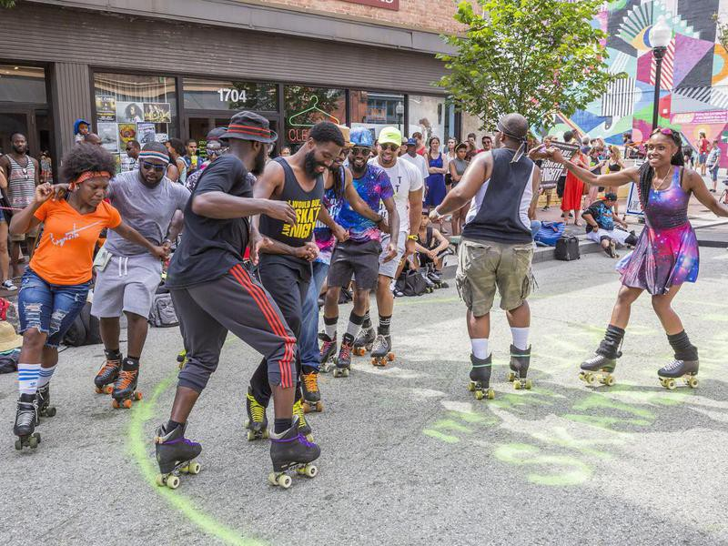 Roller Skating Club in Baltimore, Maryland