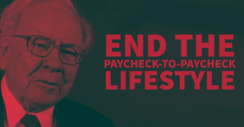 Warren Buffett: End the Paycheck-to-Paycheck Lifestyle
