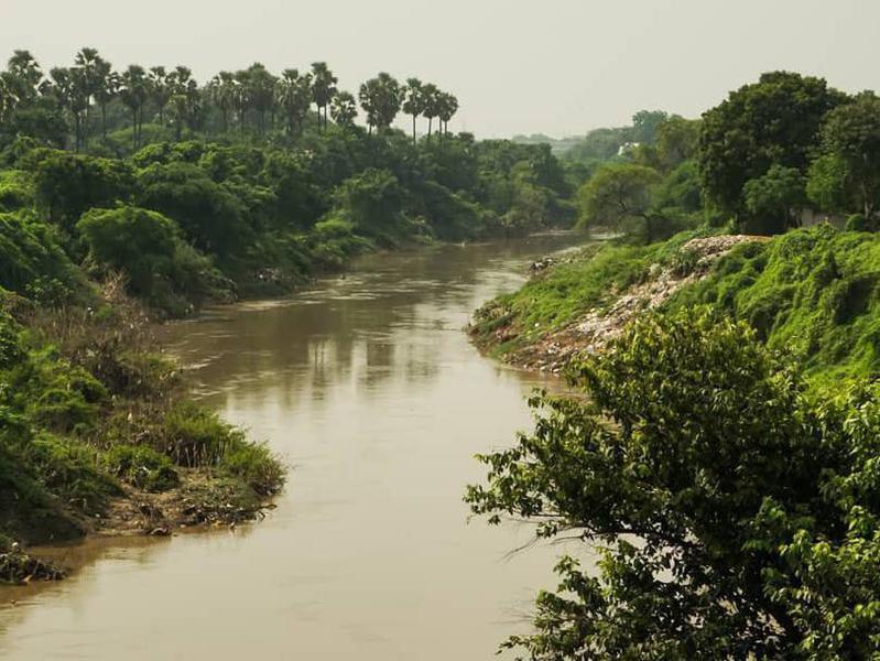 Vishwamitri River in India