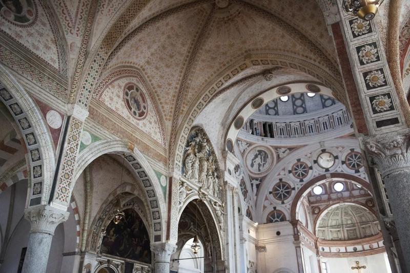 Ceiling of Santa Maria delle Grazie
