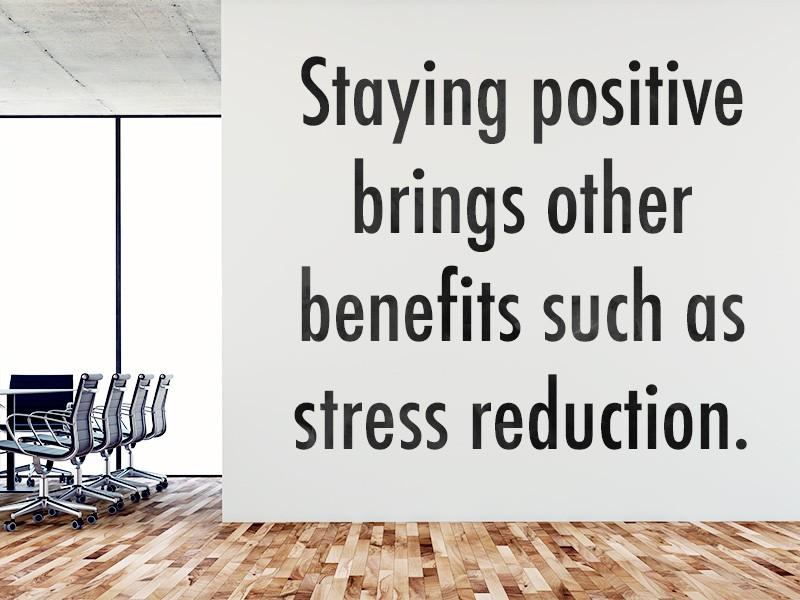 Keep a Flexible, Positive Outlook