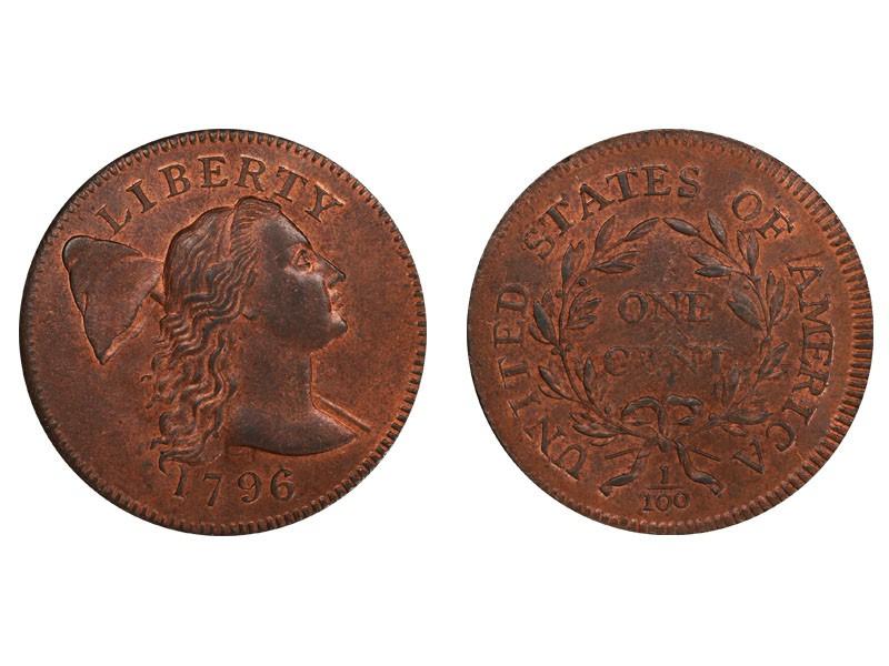 1796 Liberty Cap Cent