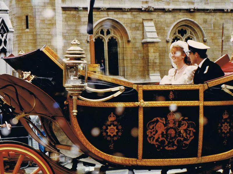 Prince Andrew and Sarah Ferguson's wedding