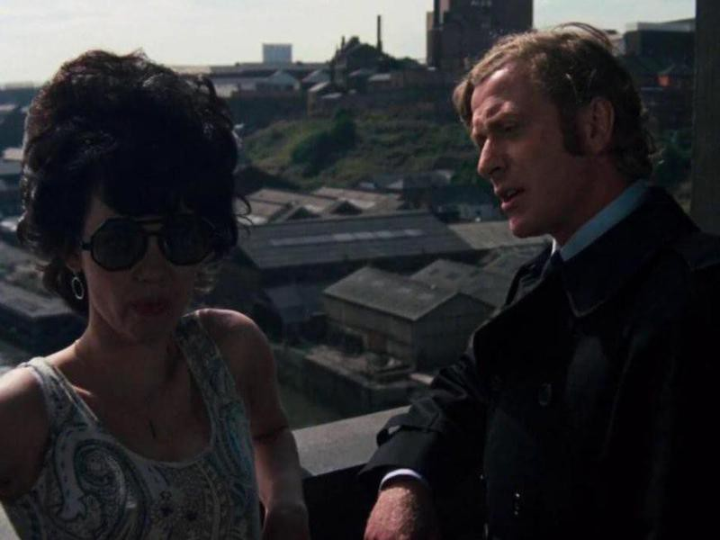 Michael Caine and Dorothy White in Get Carter