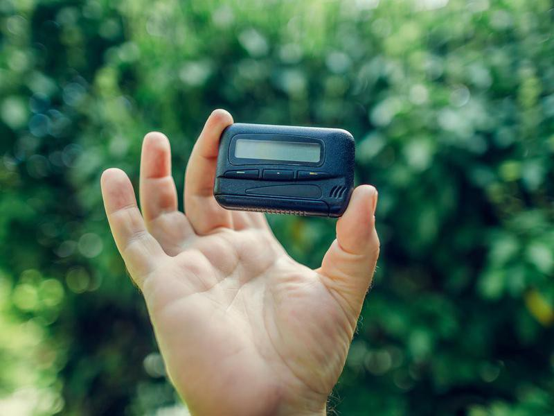 Wearing a Pager
