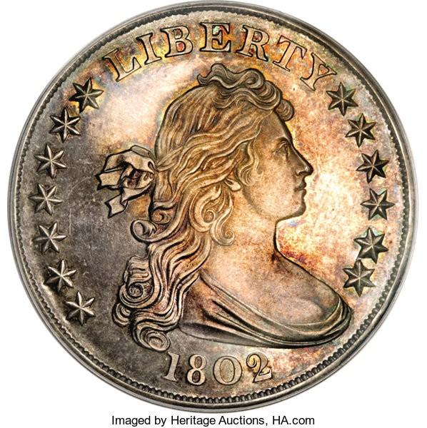 1802 Novodel Silver Dollar