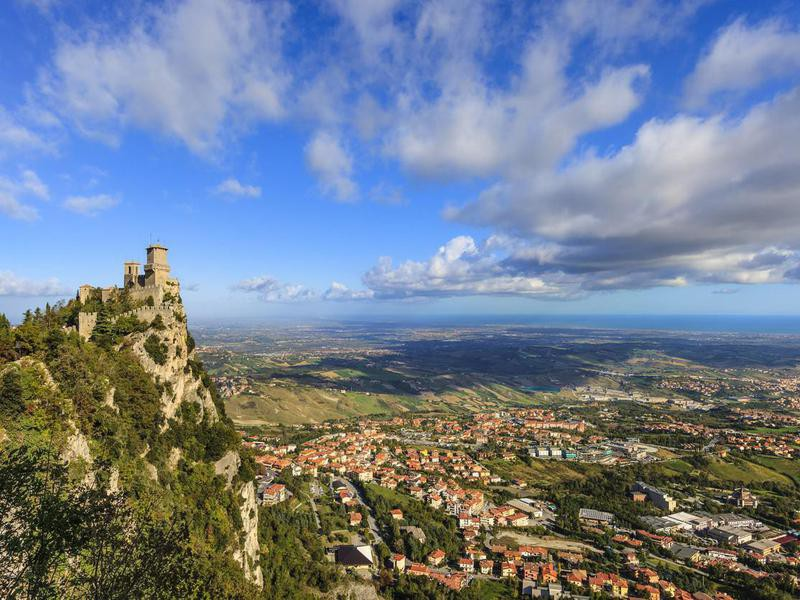 Fortress of Guaita in San Marino