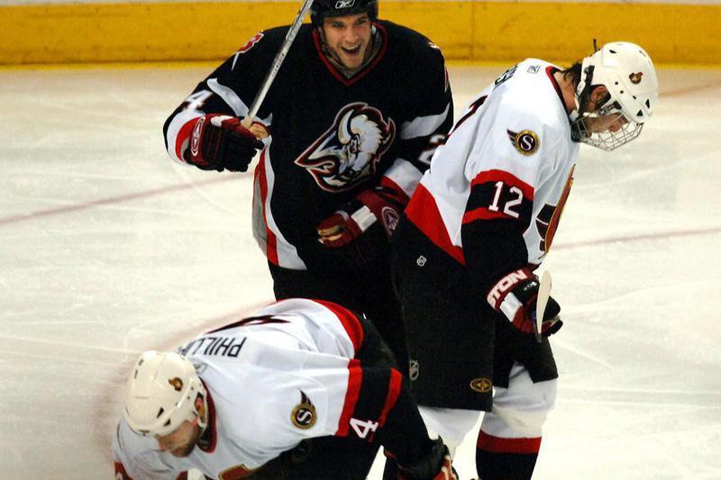 Ottawa Senators Mike Fisher and Chris Phillips