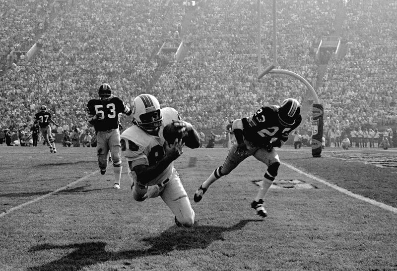 Jim Mandich in Super Bowl VII
