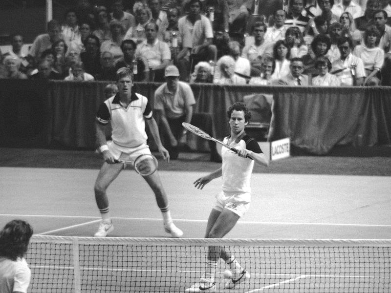 Peter Fleming and John McEnroe