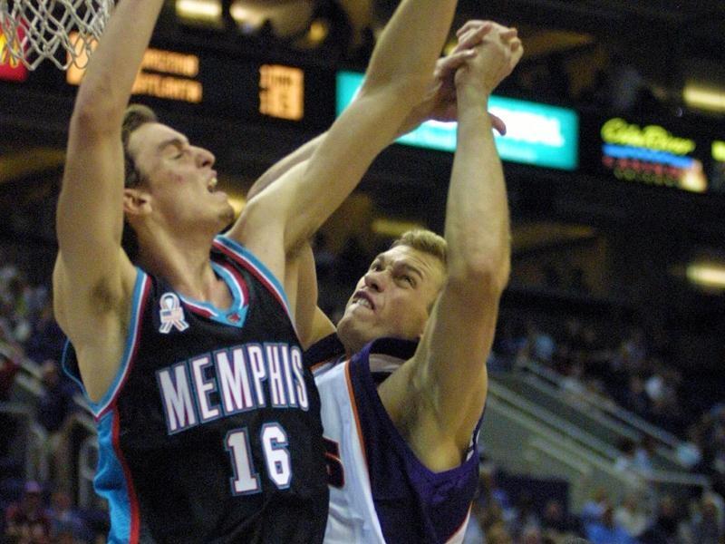 Memphis Grizzlies center Pau Gasol