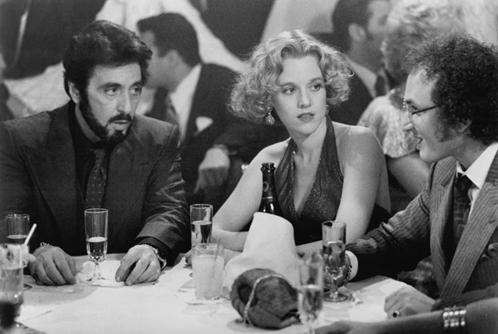 Al Pacino, Penelope Ann Miller, and Sean Penn in Carlito's Way