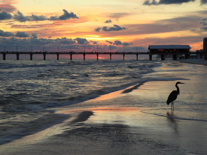 Orange Beach, Alabama at sunset