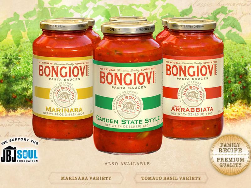 bongiovi sauces
