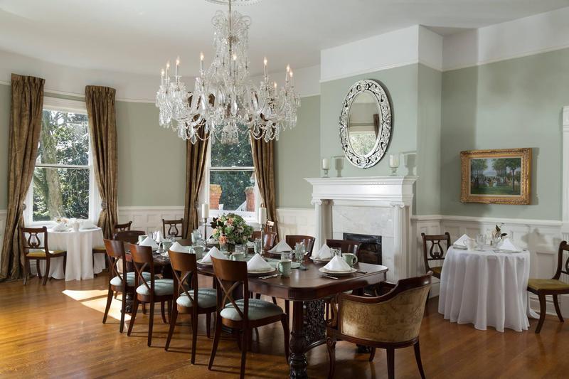 Dining room from 1834 plantation