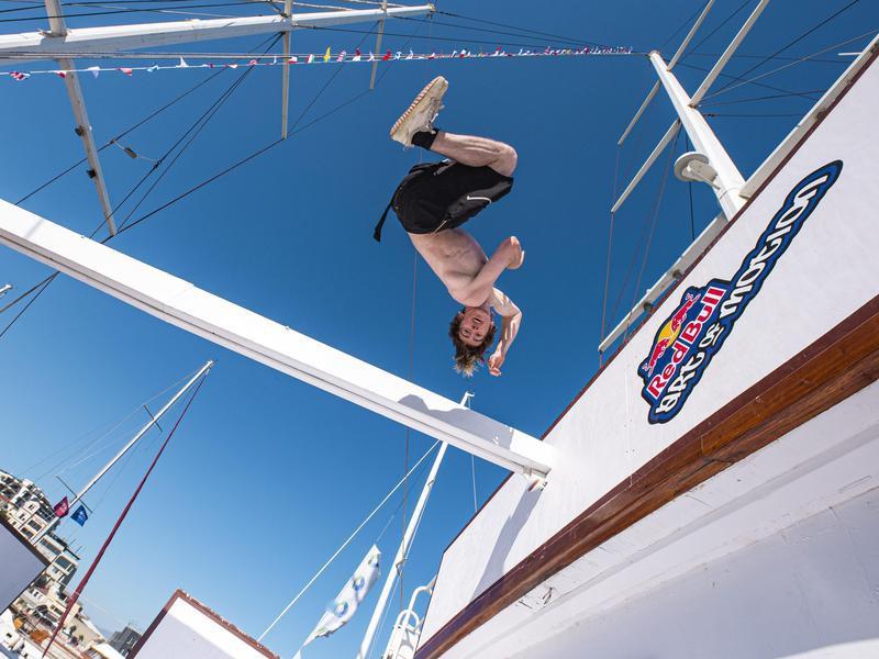 Joshua Malone makes jump