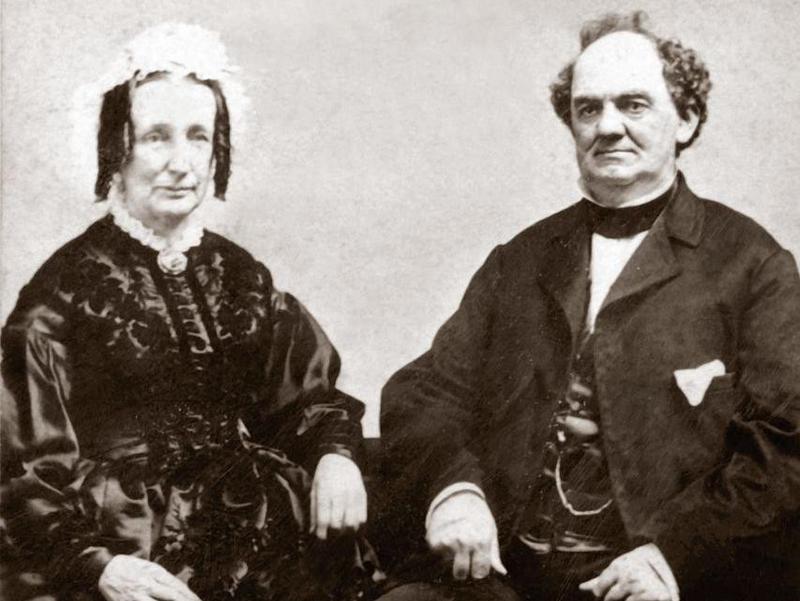 P.T. and Charity Hallett Barnum