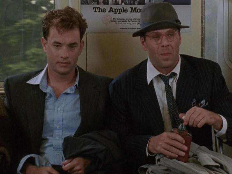 Tom Hanks and Bruce Willis