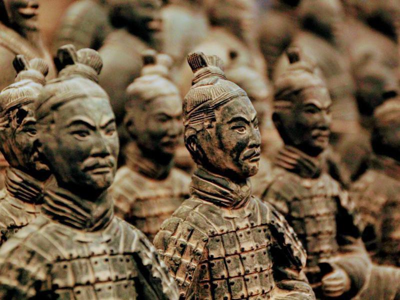 Terracotta Army in Xi'An China