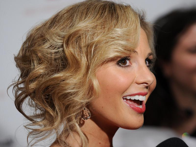 Elisabeth Hasselbeck attends a fashion show in New York in 2010.