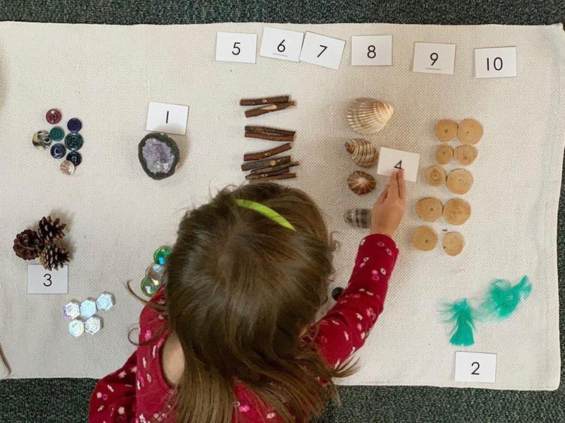 Counting with shells