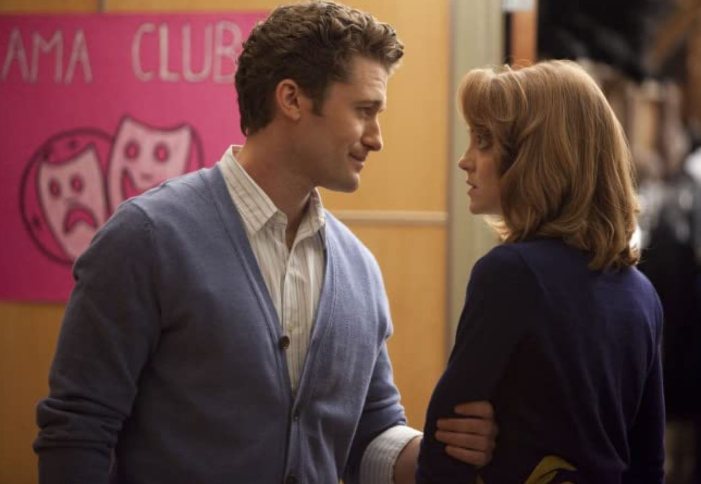 Emma and Will in Glee