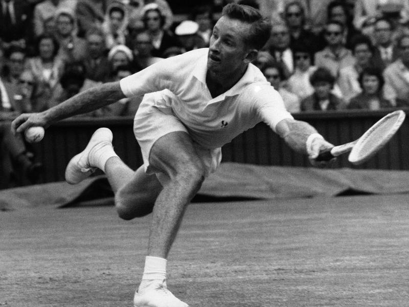 Australian tennis player Rod Laver