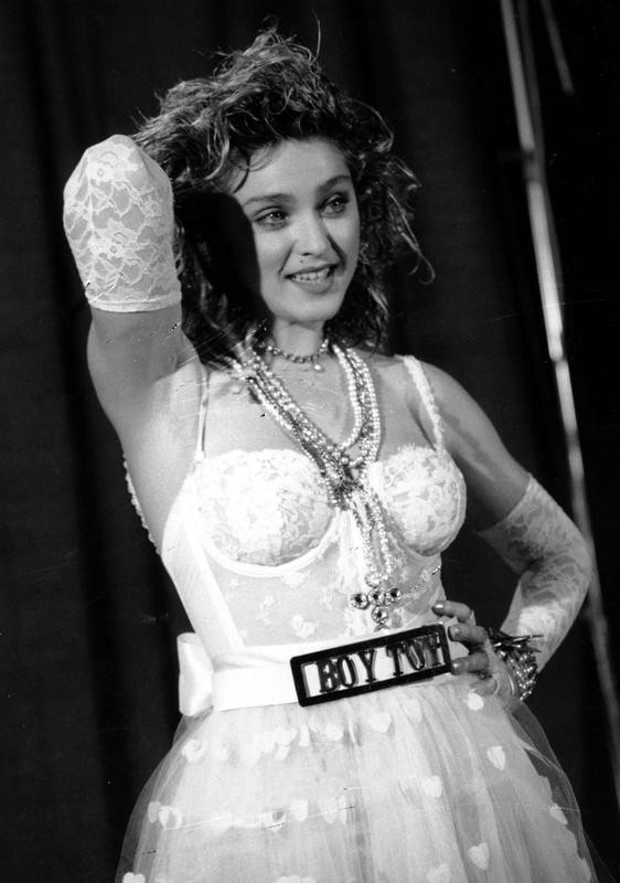 Madonna at the 1984 MTV Video Music Awards