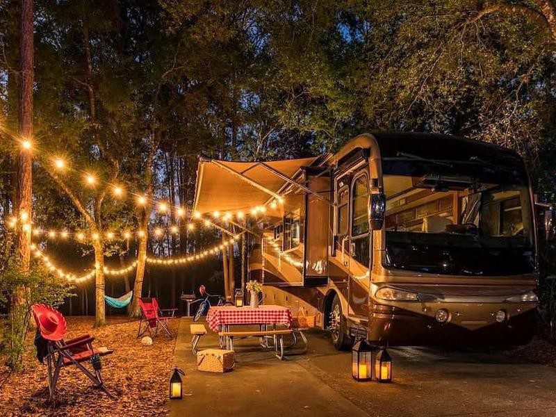 Camping at Fort Wilderness Resort & Campground