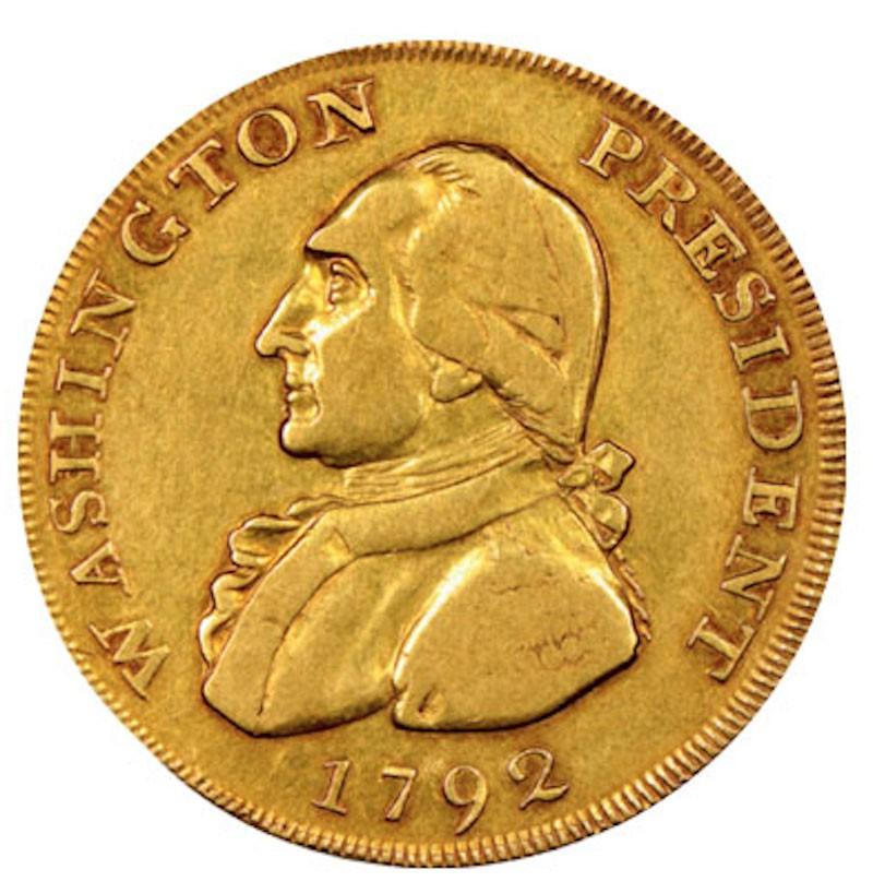 1792 Washington Gold Eagle Pattern