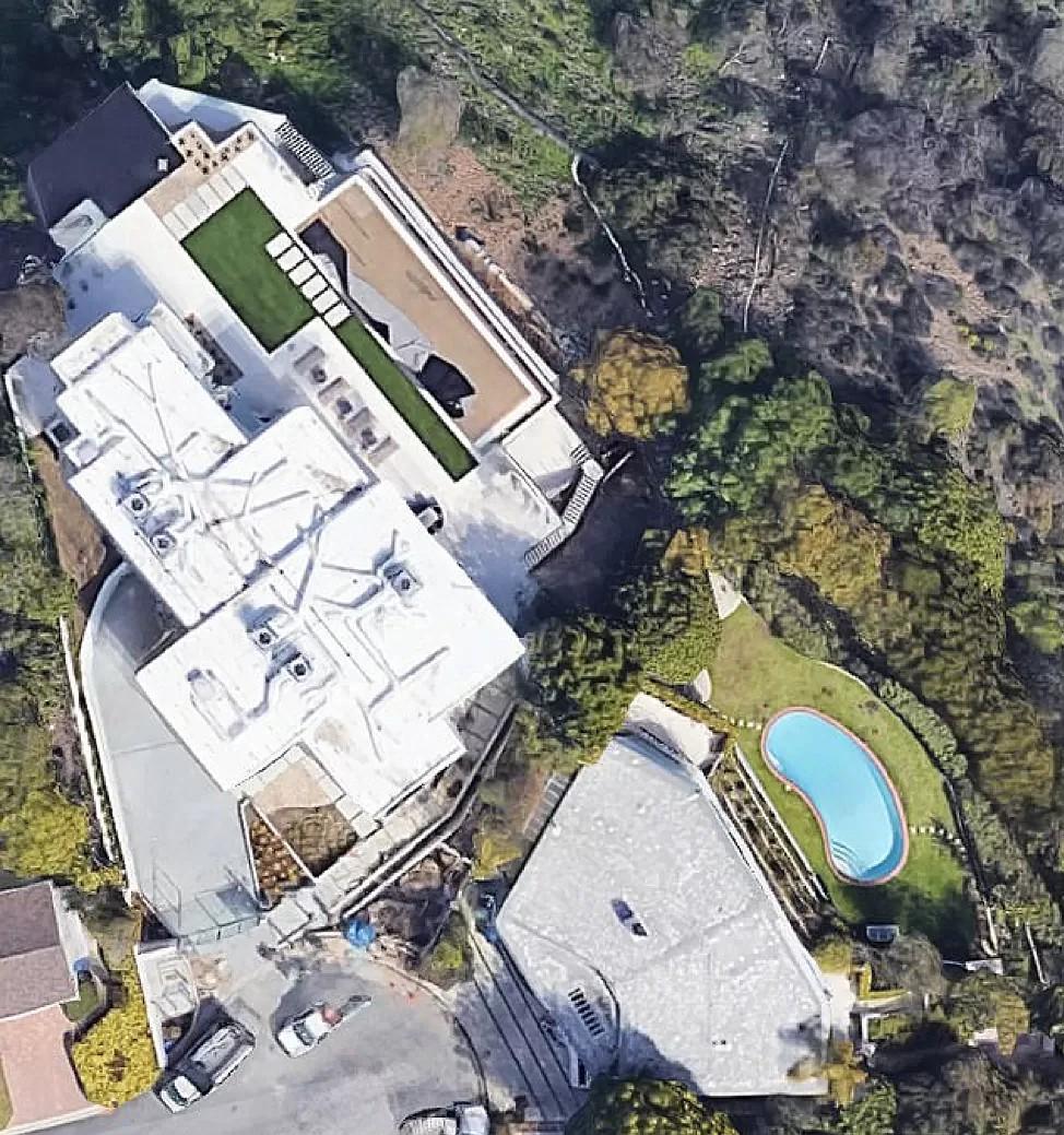 One of Elon Musk's houses