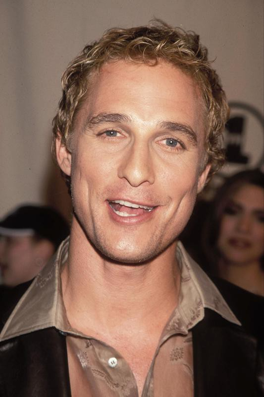 Matthew McConaughey in 2000