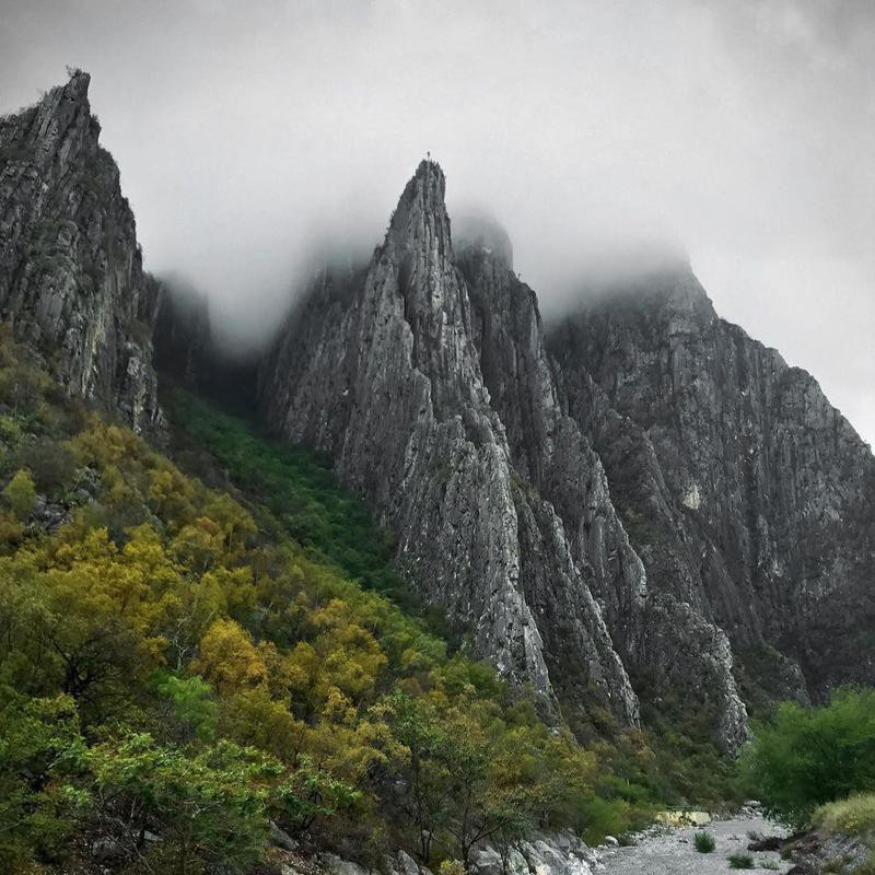 El Potrero Chico National Park in Mexico