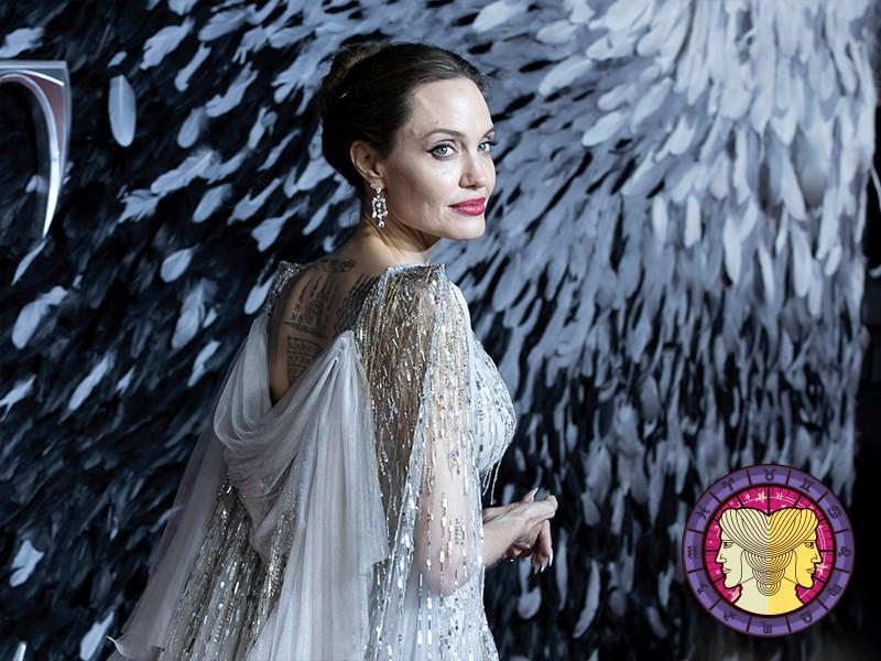 Gemini: Angelina Jolie