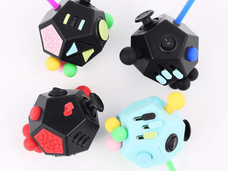 Dodecagon Fidget Toy for Adults with Anxiety