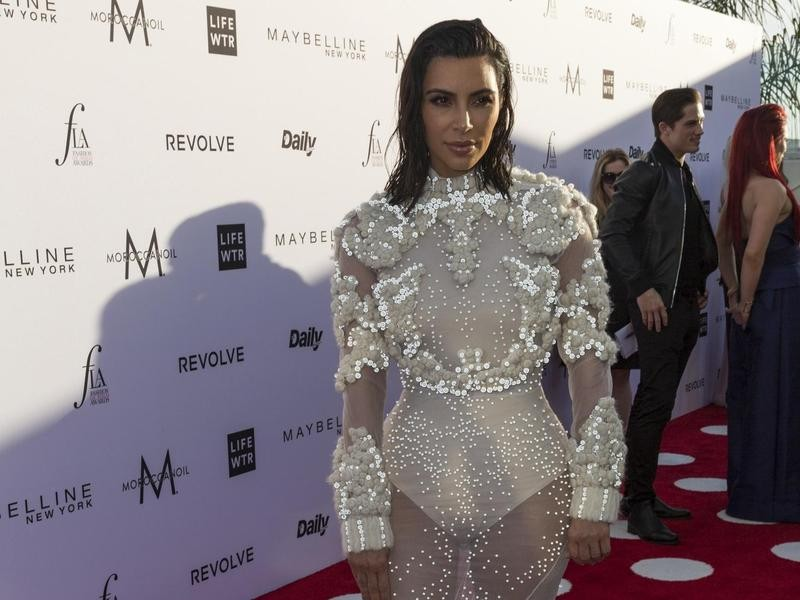 Kim Kardashian at Fashion Los Angeles Awards