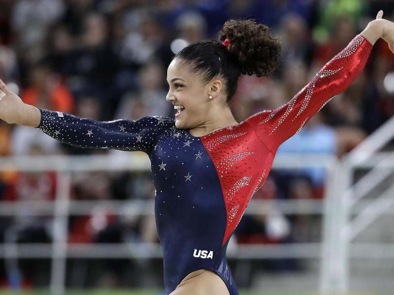 Laurie Hernandez is one of the best women's gymnasts of all time