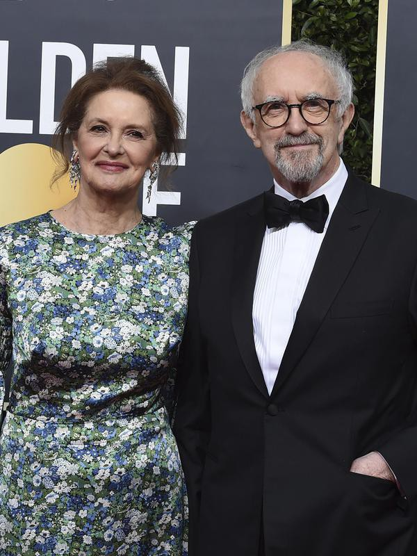 Kate Fahy and Jonathan Pryce