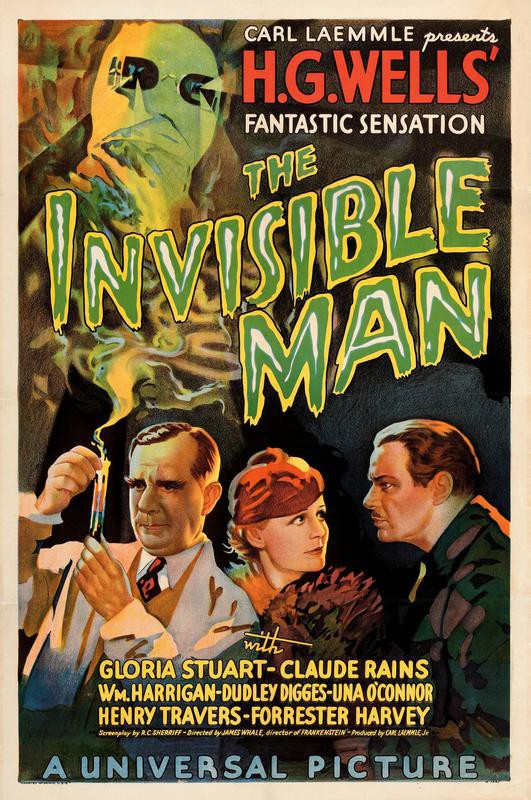 The Invisible Man 1933 movie poster