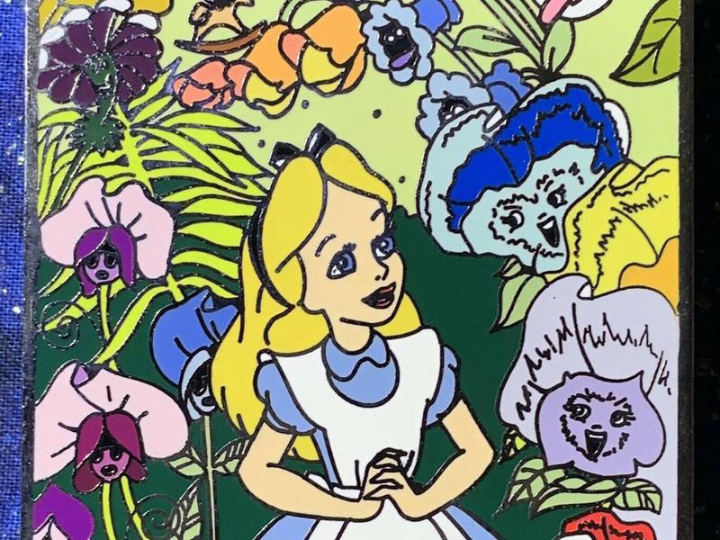 Alice in Wonderland Disney Pin
