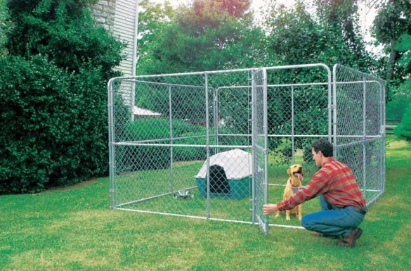 Tractor Supply dog kennel