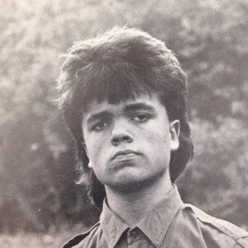 Peter Dinklage's yearbook photo