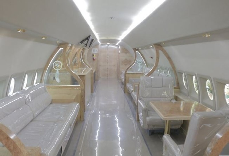 Wayne Newton's private jet