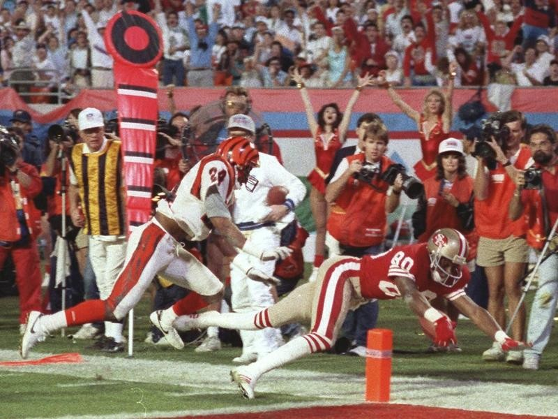 Jerry Rice in Super Bowl XXIII