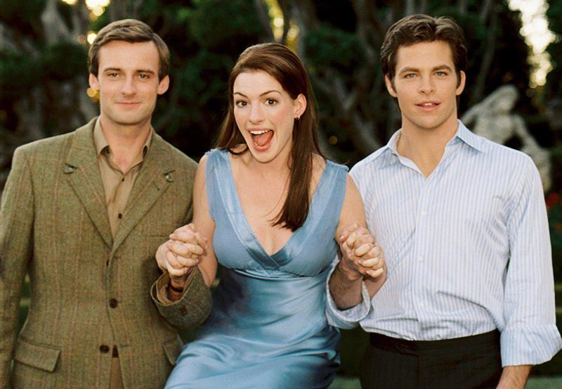 """After film school, Rhimes wrote several projects, including """"The Princess Diaries 2: Royal Engagement."""" Anne Hathaway and Chris Pine starred."""