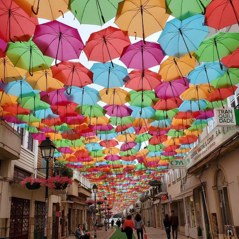 Umbrella Sky Project, Portugal