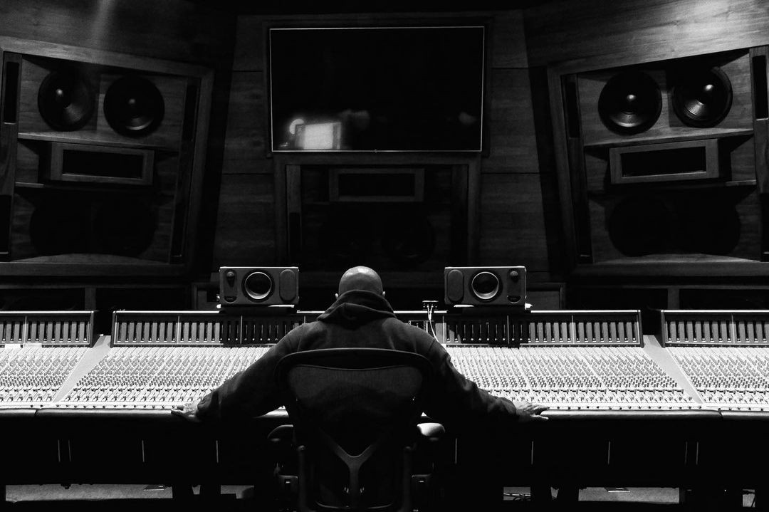 Dre. Dre's music studio in his house